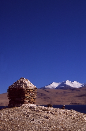 Photo Himalayan's stupa in Ladakh - Pictures and Images of Ladakh