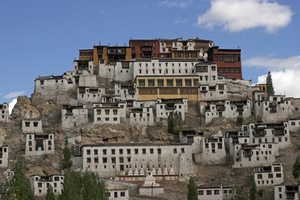 Photo Buddhist monastery of Thikse in Ladakh - Pictures and Images of Ladakh - 425x283  - Author: Editorial Staff, photo 3 of 4