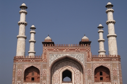 Photo Akbar's Tomb in Mathura-Sikandra - Pictures and Images of Mathura-Sikandra 