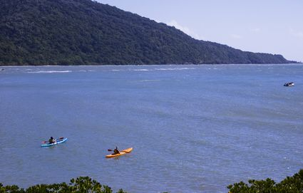 Photo Kayaking on the ocean in Daintree - Pictures and Images of Daintree