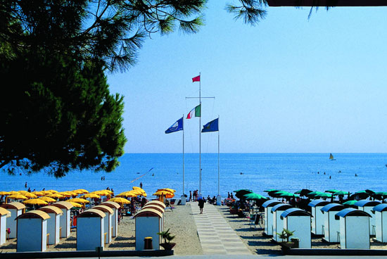 Grado la spiaggia di grado bilder und fotos aus grado 550x368
