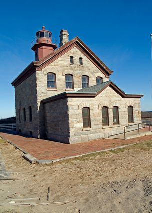 Photo block island historic north light in Block Island - Pictures and Images of Block Island