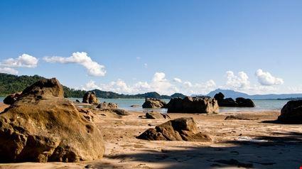 Beach on Borneo