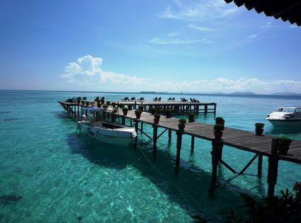 Photo Wharf in Sabah - Pictures and Images of Sabah - 425x315  - Author: Editorial Staff, photo 2 of 4