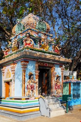 Colorful Indian Hindu Temple