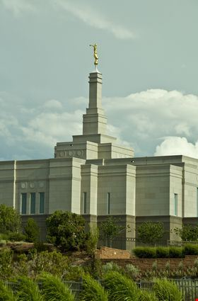 Mormons' Temple Snowflake