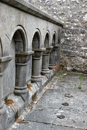 Ancient Arched Wall