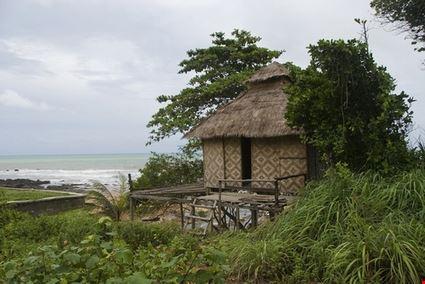 Bamboo Beach Hut