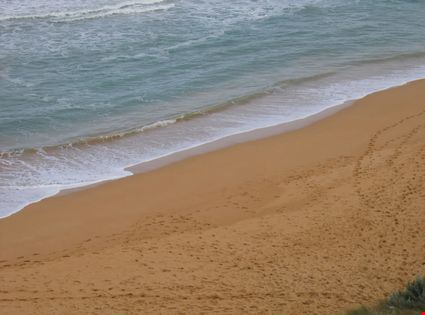 Sand beach and sea