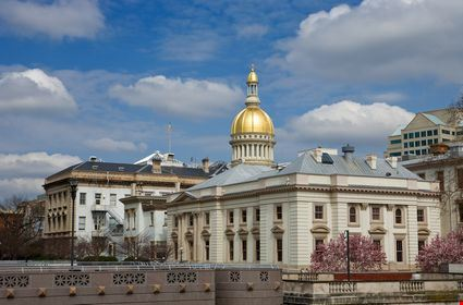 New Jersey's State House capitol in Trenton