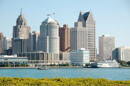 Photo Downtown in Detroit - Pictures and Images of Detroit - 425x282  - Author: Editorial Staff, photo 1 of 5
