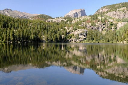 Photo Bear Lake in Estes Park - Pictures and Images of Estes Park 