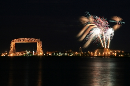 Photo duluth fireworks in Duluth - Pictures and Images of Duluth