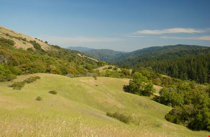 San Andreas Fault Hill Country California