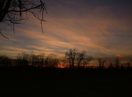 Photo Sunset in Berea in Berea - Pictures and Images of Berea - 425x315  - Author: Editorial Staff, photo 1 of 1