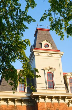 Photo Tower of an old town hall  in Bedford - Pictures and Images of Bedford - 278x425  - Author: Editorial Staff, photo 1 of 2