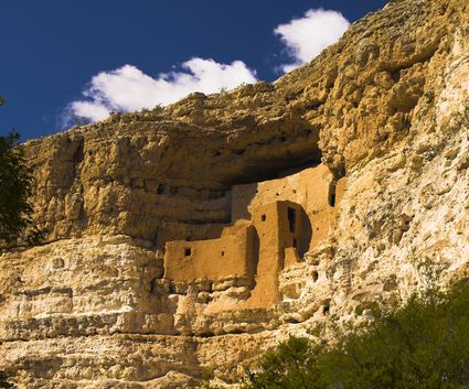 Photo Montezuma Castle in Camp Verde - Pictures and Images of Camp Verde - 425x353  - Author: Editorial Staff, photo 1 of 3