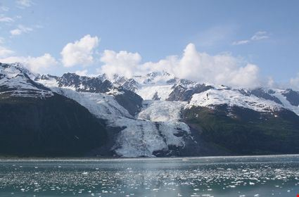 Glacier in College Fjord