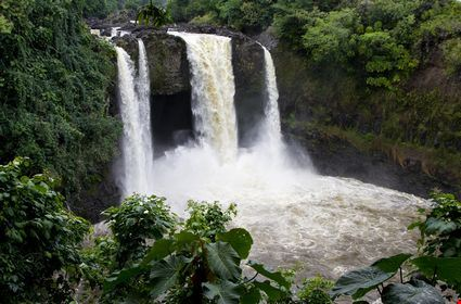 A great waterfall