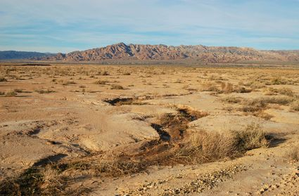Photo Desert landscape in Salton Sea - Pictures and Images of Salton Sea 