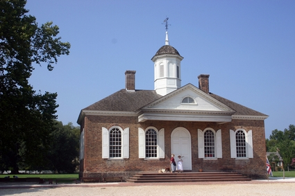 Photo williamsburg colonial courthouse in Williamsburg - Pictures and Images of Williamsburg