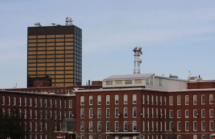 A view of downtown Manchester New Hampshire
