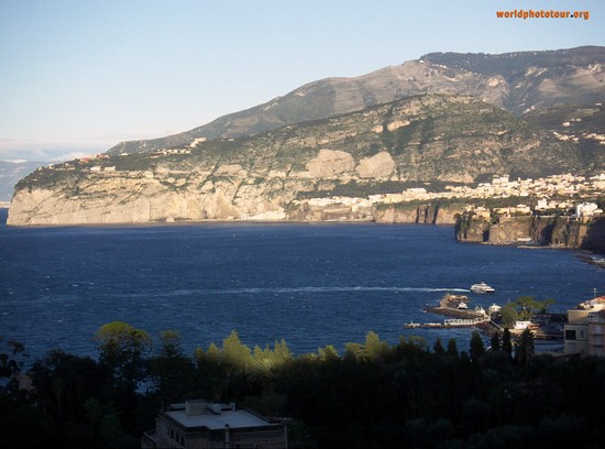 Photo Panorama dalla Regina Giovanna in Sorrento - Pictures and Images of Sorrento