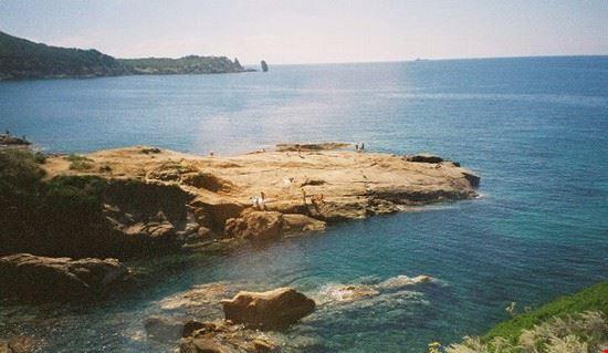 Il mare vicino a Orbetello