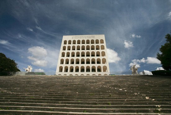 Photo Palazzo della Civiltà Italiana (©Imagestalk) in Rome - Pictures and Images of Rome