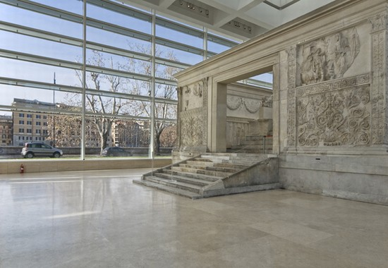 Photo roma teca dell ara pacis archeofoto in Rome - Pictures and Images of Rome - 550x380  - Author: Editorial Staff, photo 5 of 997