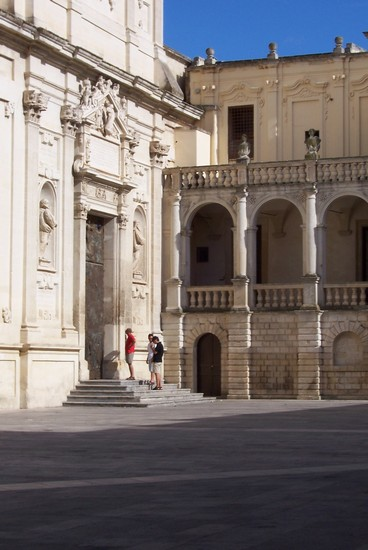Photo Il duomo di Lecce in Lecce - Pictures and Images of Lecce