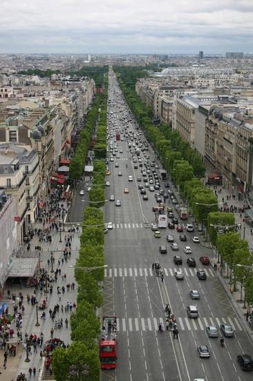 Champs lys es stadtviertel von paris - H m les champs elysees ...