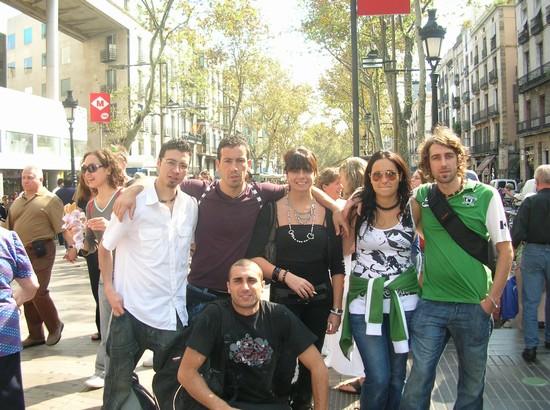Foto nn gruppo sulla rambla a barcellona 550x410 for Hotel sulla rambla a barcellona