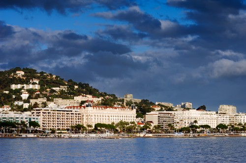 Photo La Croisette in Cannes - Pictures and Images of Cannes