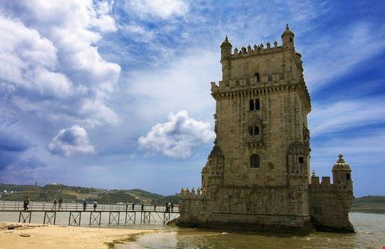 17428 lisbona torre di belem