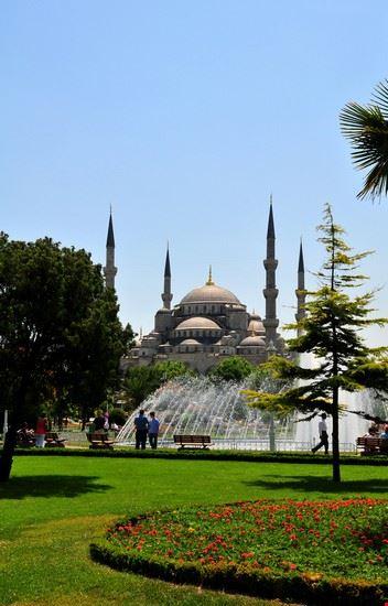 17460 istanbul scorcio dei giardini