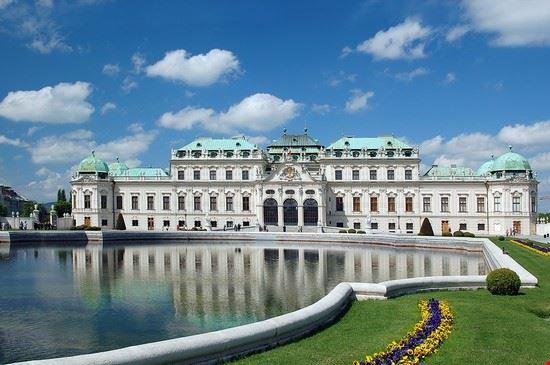 Veduta del Palazzo del Belvedere