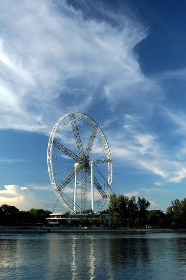 Photo singapore singapore flyer in Singapore - Pictures and Images of Singapore - 366x550  - Author: Editorial Staff, photo 4 of 116