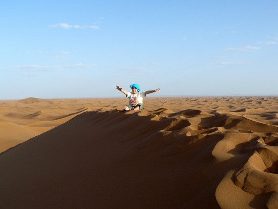 Photo Dune di Erg Chegaga in Ouarzazate - Pictures and Images of Ouarzazate