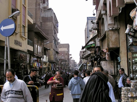 Photo Scena tipica del bazar in Cairo - Pictures and Images of Cairo