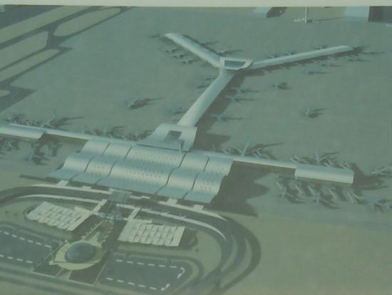 Aeroporto Qatar : Foto progetto ampliamento aeroporto a doha