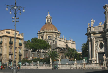 Photo La Cattedrale di sant'Agata in Catania - Pictures and Images of Catania