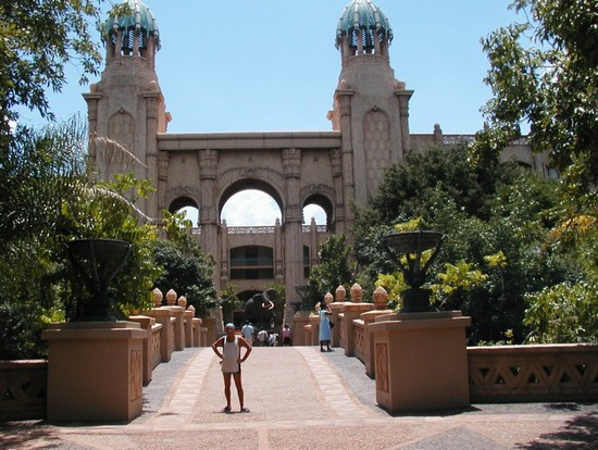 Photo johannesburg palace of the lost city in Johannesburg - Pictures and Images of Johannesburg - 550x414  - Author: ALBERTO, photo 6 of 100