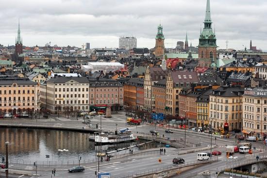 foto veduta aerea del centro storico a stoccolma 550x366