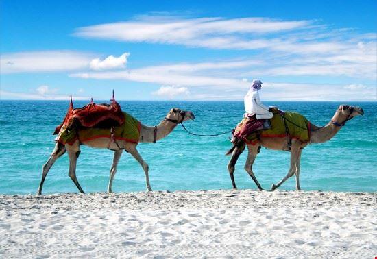 La spiaggia di Jumeirah