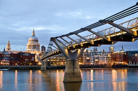 Foto Il Millennium Bridge a Londra - 550x365  - Autore: Redazione, foto 3 di 883