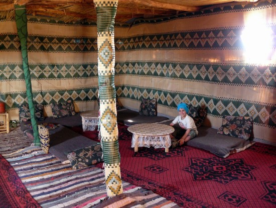 Photo tenda al campo beduino in Ouarzazate - Pictures and Images of Ouarzazate