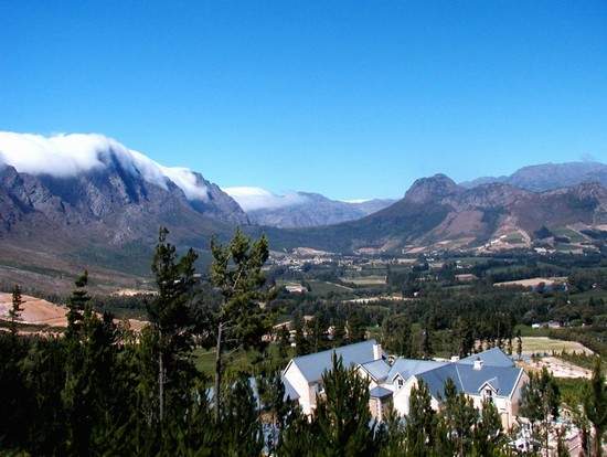 Photo Winelands in Stellenbosch - Pictures and Images of Stellenbosch