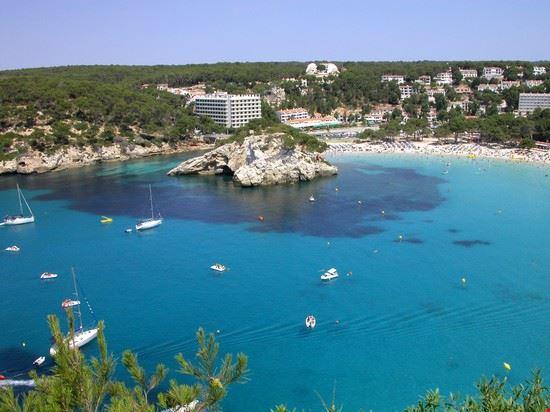 La spiaggia di Cala Galdana