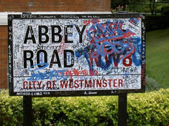 19087 londra targa di abbey road